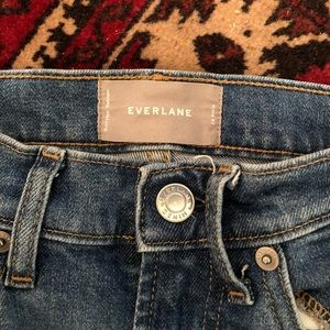 Everlane High Rise Skinny Ankle Jeans (size 24)